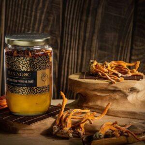 Sản phẩm mật ong đông trùng hạ thảo Đan Ngọc